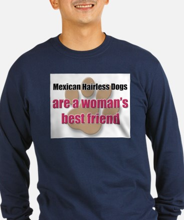 Mexican Hairless Dogs woman's best friend T