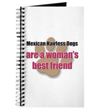 Mexican Hairless Dogs woman's best friend Journal