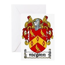 McGinn Coat of Arms Note Cards (Pk of 10)