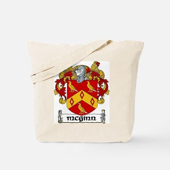 McGinn Coat of Arms Tote Bag