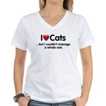 The Cat Food Women's V-Neck T-Shirt