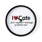 The Cat Food Wall Clock
