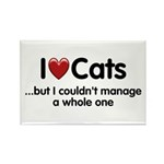 The Cat Food Rectangle Magnet (100 pack)
