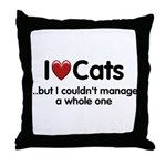 The Cat Food Throw Pillow