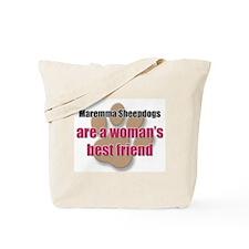 Maremma Sheepdogs woman's best friend Tote Bag