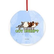 got sheep? Ornament (Round)