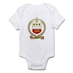 THERIOT Family Crest Infant Creeper