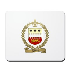 THERIOT Family Crest Mousepad