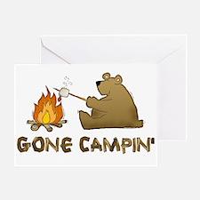 Gone Campin' Greeting Card