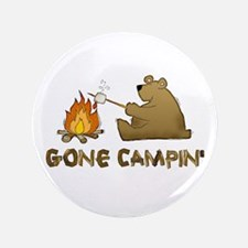 "Gone Campin' 3.5"" Button"