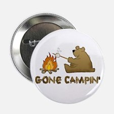 "Gone Campin' 2.25"" Button"