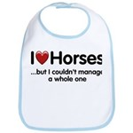 The Horse Meet Bib