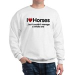 The Horse Meet Sweatshirt