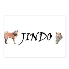 Jindo Postcards (Package of 8)