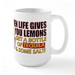 When Life Gives You Lemons Large Mug