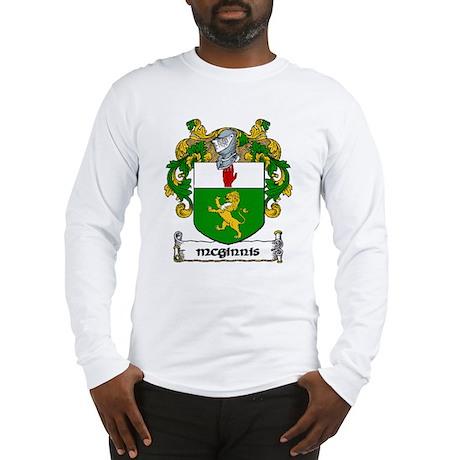 McGinnis Coat of Arms Long Sleeve T-Shirt