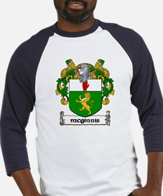 McGinnis Coat of Arms Baseball Jersey