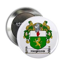 """McGinnis Coat of Arms 2.25"""" Button (10 pack)"""