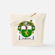 McGinnis Coat of Arms Tote Bag