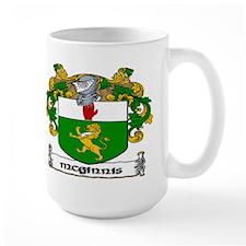 McGinnis Coat of Arms Mug
