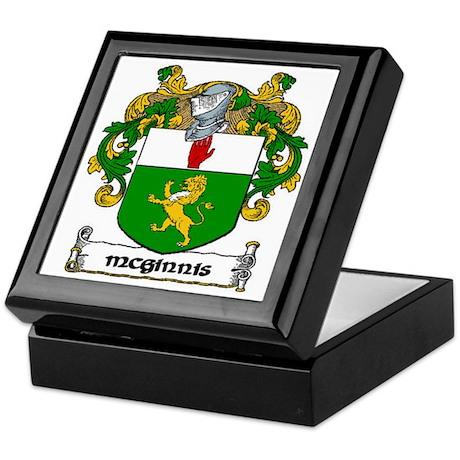 McGinnis Coat of Arms Keepsake Box