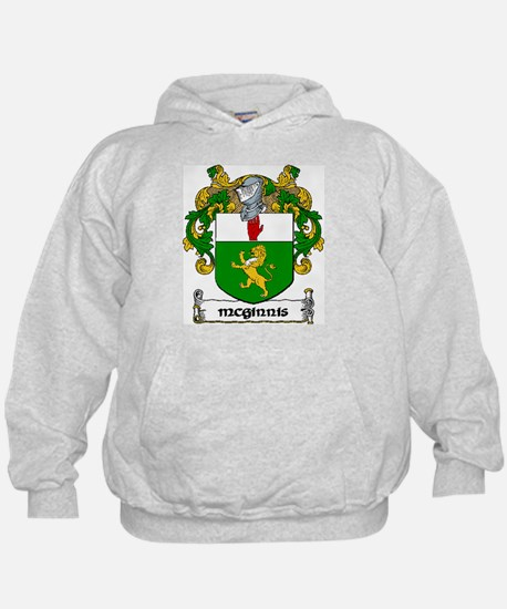 McGinnis Coat of Arms Hoodie