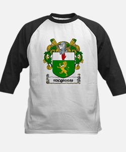 McGinnis Coat of Arms Kids Baseball Jersey