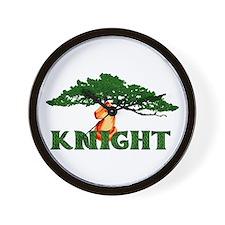 Pagan Chess Knight Wall Clock