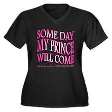 Some Day... Women's Plus Size V-Neck Dark T-Shirt