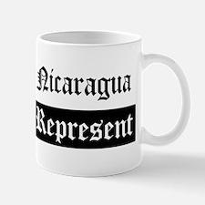 Nicaragua - Represent Mug
