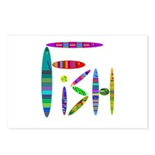 Fish word Postcards (Package of 8)