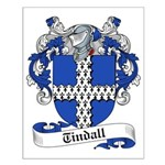 Tindall Family Crest Small Poster