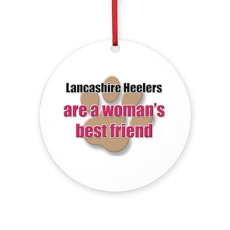 Lancashire Heelers woman's best friend Ornament (R