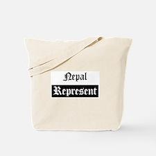 Nepal - Represent Tote Bag