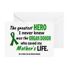 Hero I Never Knew 1 (Mother) Greeting Card