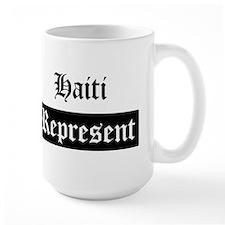 Haiti - Represent Mug
