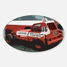 Rod Falding Classic Oval Decal