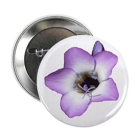 "Purple Flower - 2.25"" Button (10 pack)"