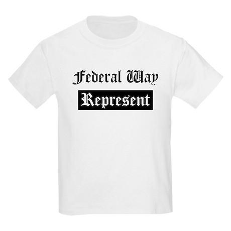 Federal Way - Represent Kids Light T-Shirt