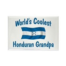 Coolest Honduran Grandpa Rectangle Magnet