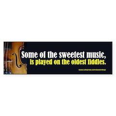 Old Fiddles (Bumper Sticker)