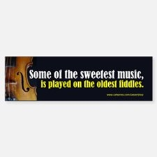 Old Fiddles (Bumper Sticker)