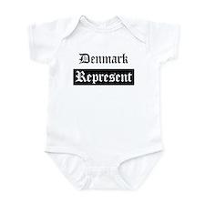 Denmark - Represent Infant Bodysuit