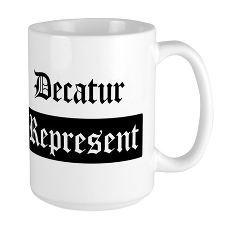 Decatur - Represent Large Mug