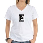 Rated Awesome Women's V-Neck T-Shirt
