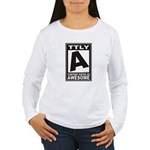 Rated Awesome Women's Long Sleeve T-Shirt