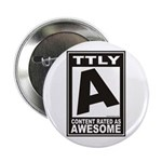 "Rated Awesome 2.25"" Button (100 pack)"