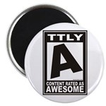 Rated Awesome Magnet