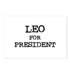 Leo for President Postcards (Package of 8)