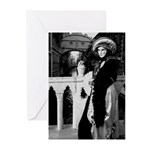 Lady and the Sigh Greeting Cards (Pk of 10)